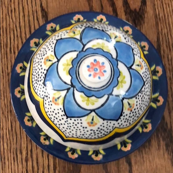 Anthropologie Other - NWT Anthropologie ceramic lidded dish